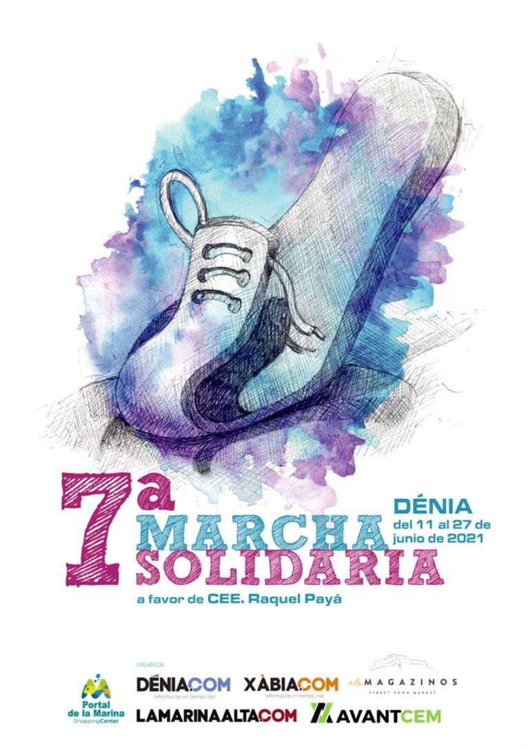 Cartel de la 7ª Marcha Solidaria