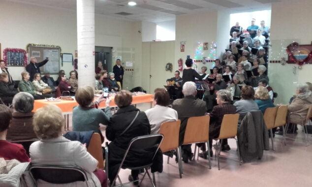 Imagen: Curso en el Aula de la Tercera Edad en Dénia antes de la pandemia