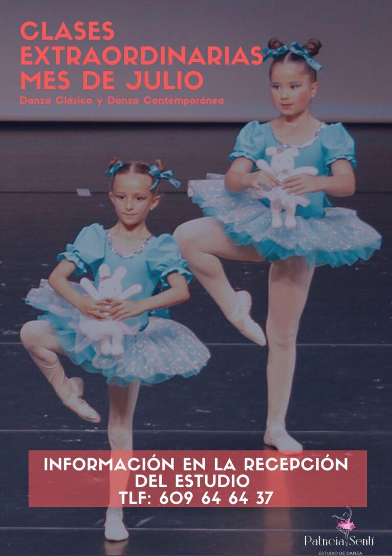 Danza clásica y danza contemporánea en verano en Dénia - Estudio de Danza Patricia Sentí