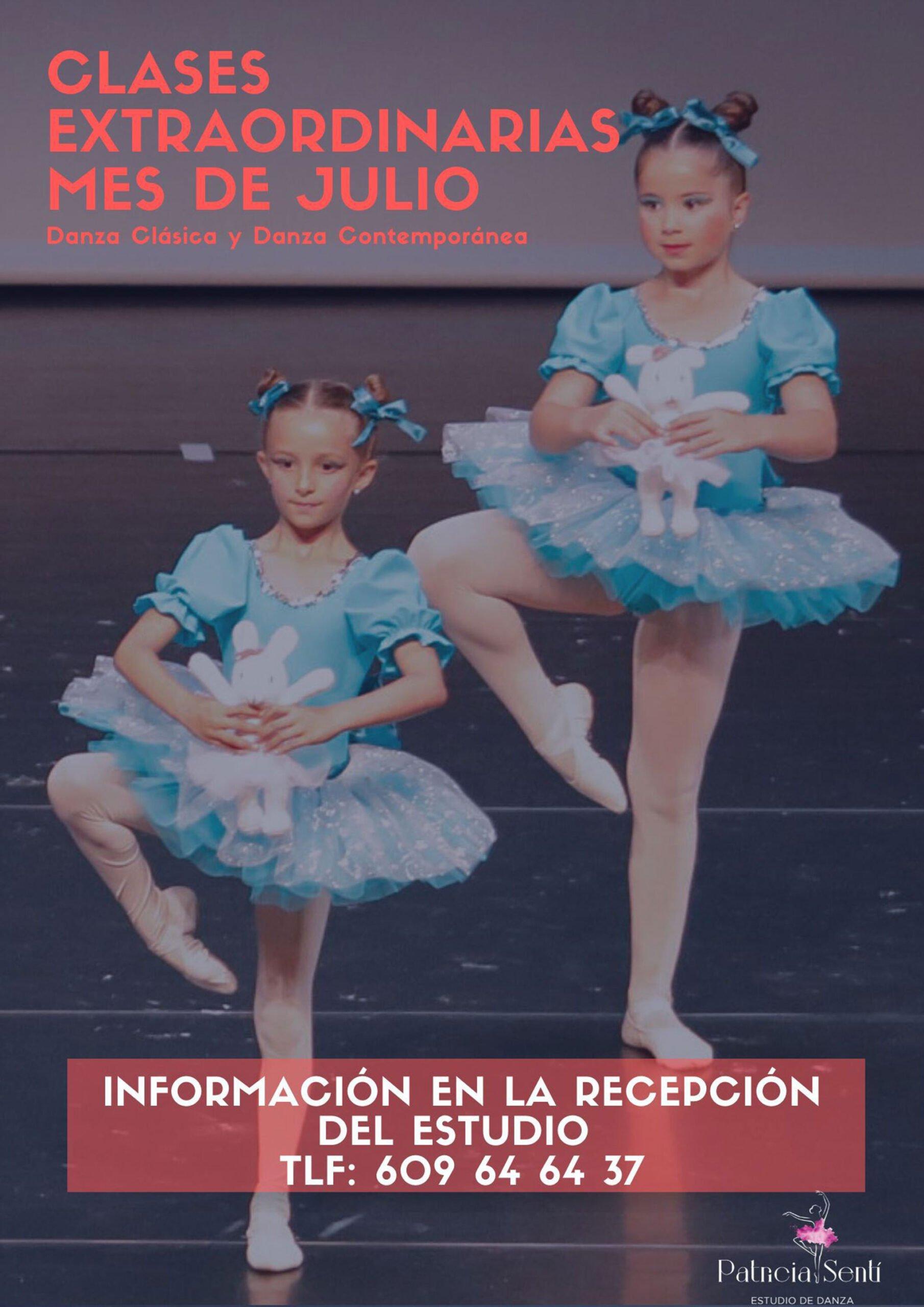 Danza clásica y danza contemporánea en verano en Dénia – Estudio de Danza Patricia Sentí