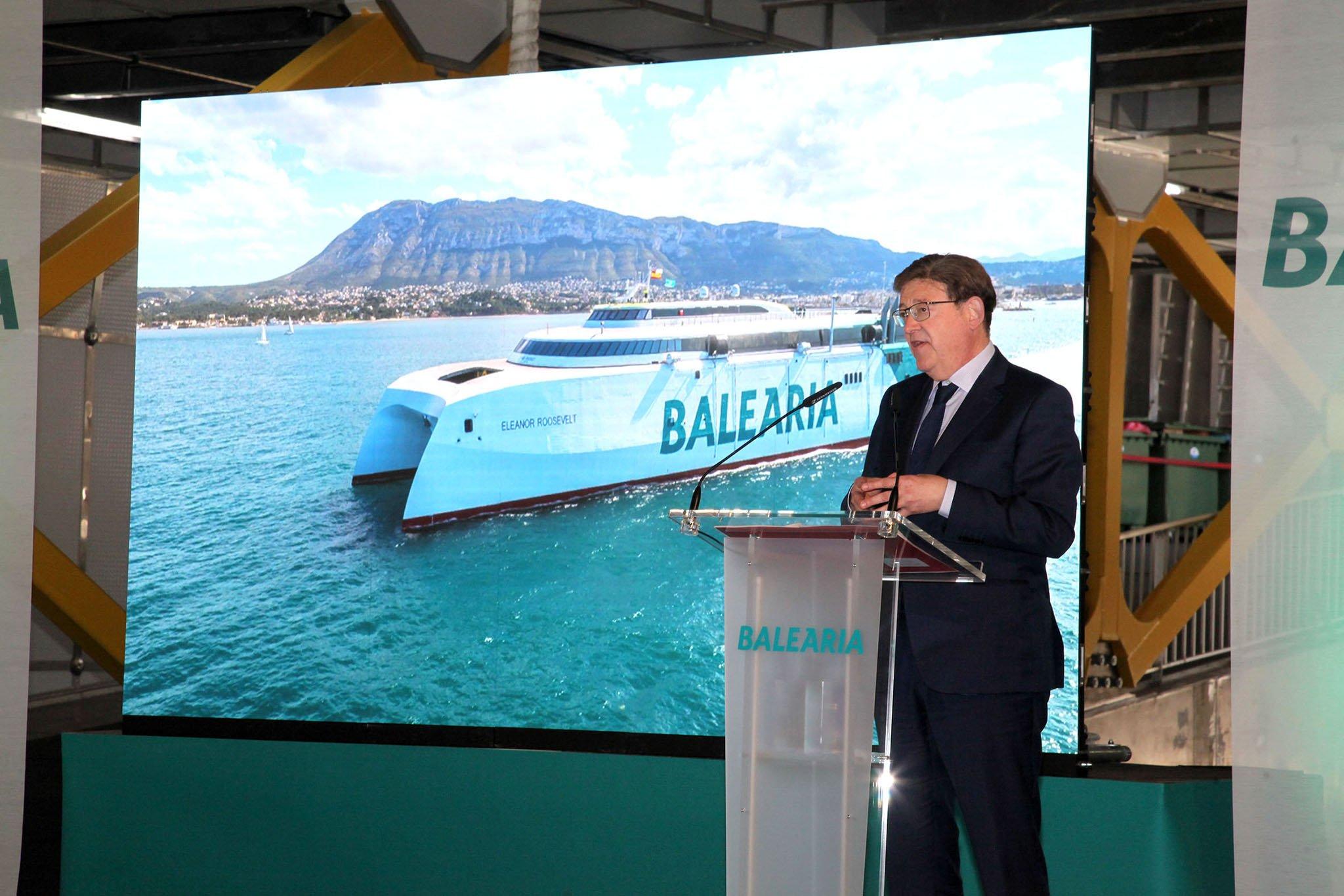 El president Ximo Puig en la presentación