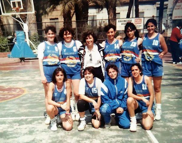 Imagen: Equipo Senior Femenino Náutico año 1990