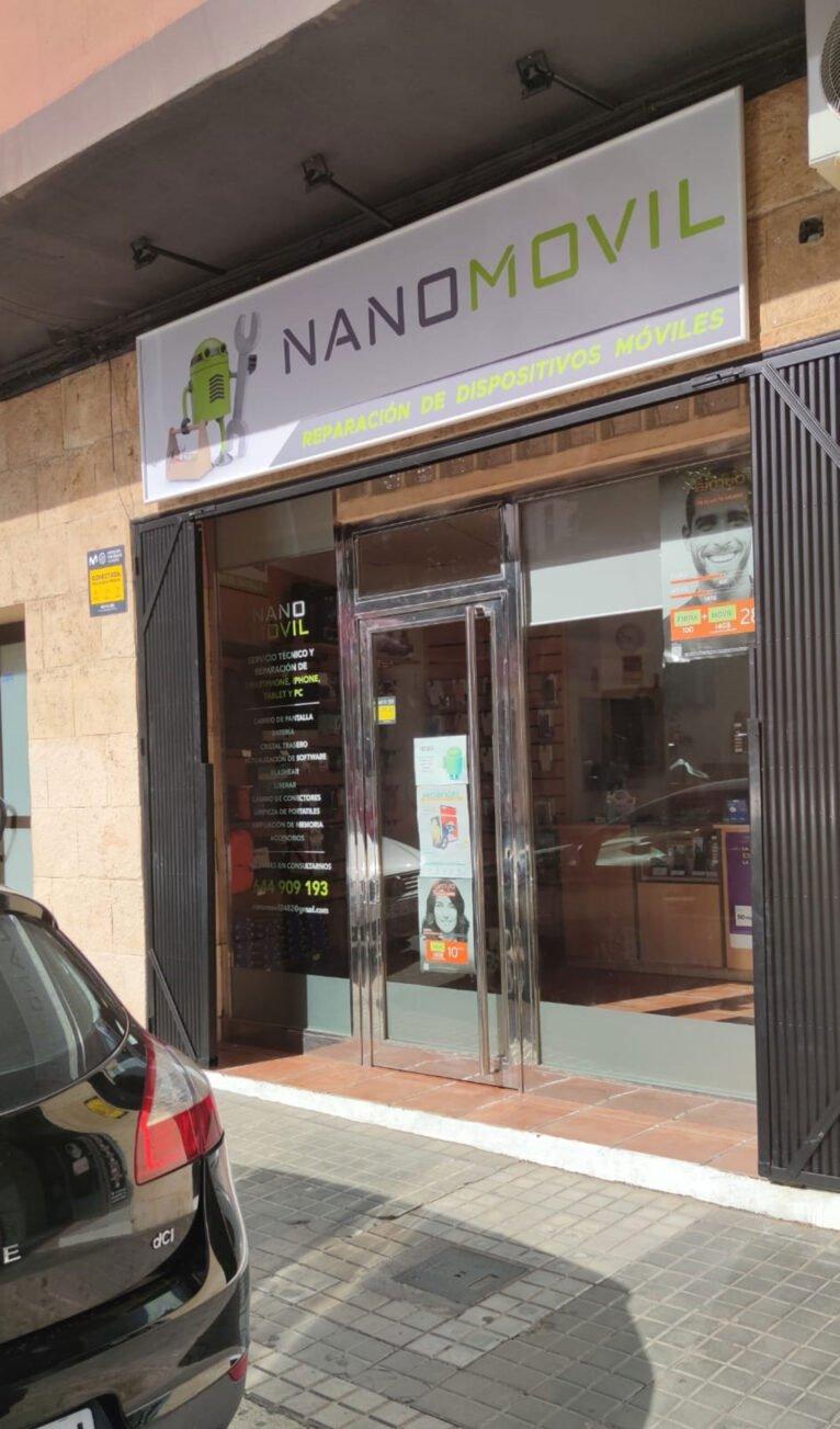 Exterior de Nanomovil en Dénia