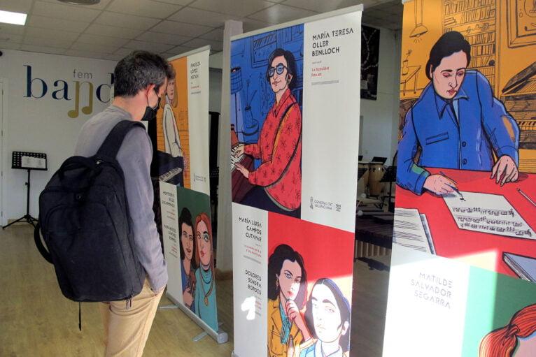 Inauguración de la exposición Les Nostres Compositores