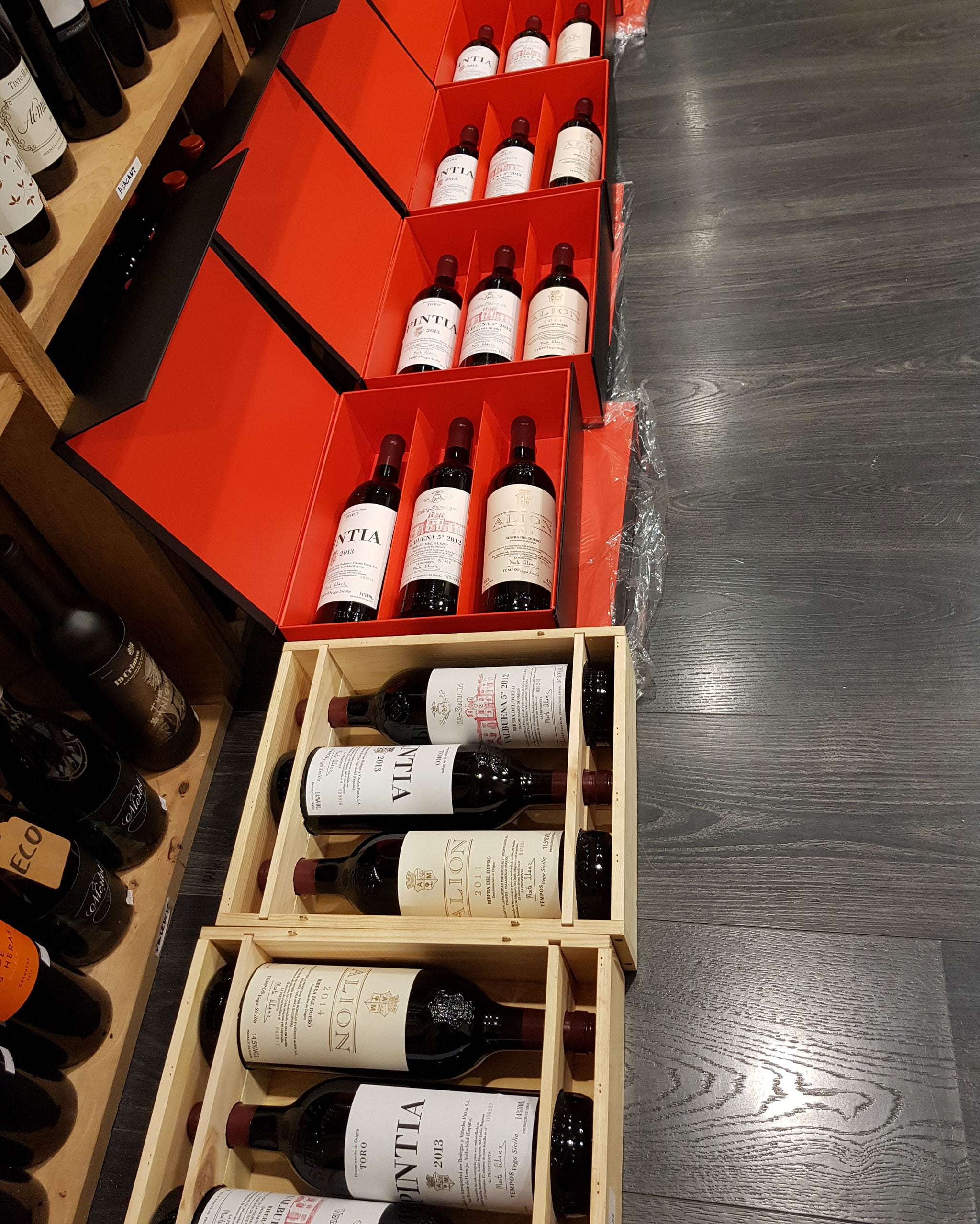 Lote de vinos Vega Sicilia para regalar – Gourmet Point