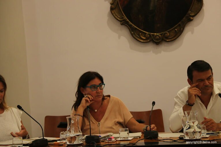 María Mut concejala PP Dénia