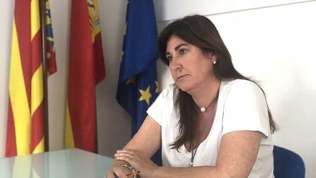 Imagen: María Mut, portavoz de Populares Dénia