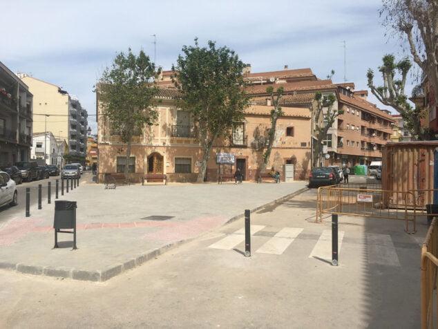 Imagen: Nueva plaza Valgamedios tras la finalización de las obras
