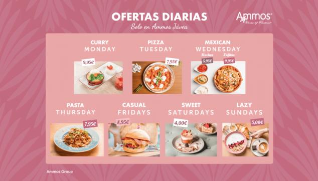 Imagen: Ofertas diarias en Restaurante Ammos Jávea