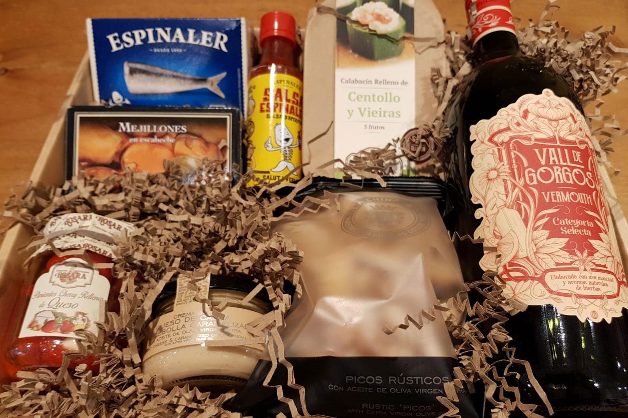 Pack gourmet variado en Dénia – Gourmet Point