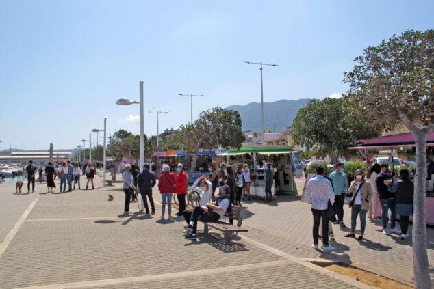 Imagen: Paseo del Puerto de Dénia