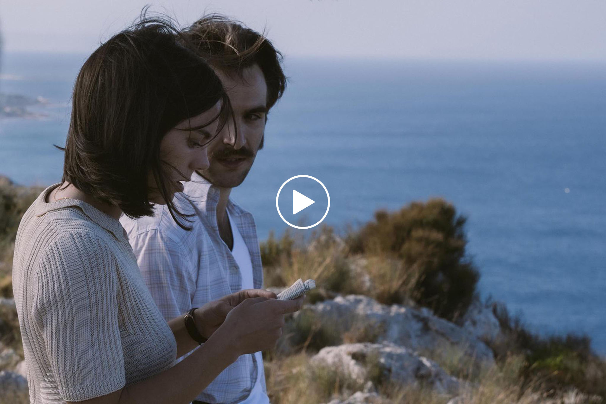 Play Ricardo Gómez y Vicky Luengo en el rodaje de El Sustituto