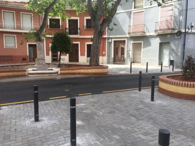 Imagen: Plaza Tenor Cortis tras las obras de remodelación