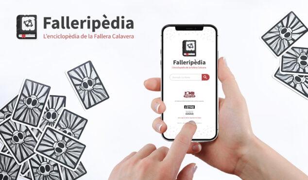 Imagen: Presentación de la Falleripèdia