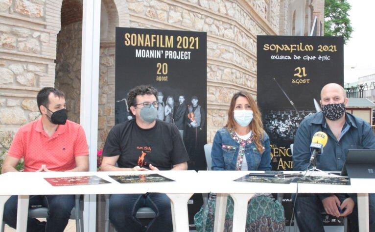 Imagen tomada durante la presentación de la tercera edición de Sonafilm