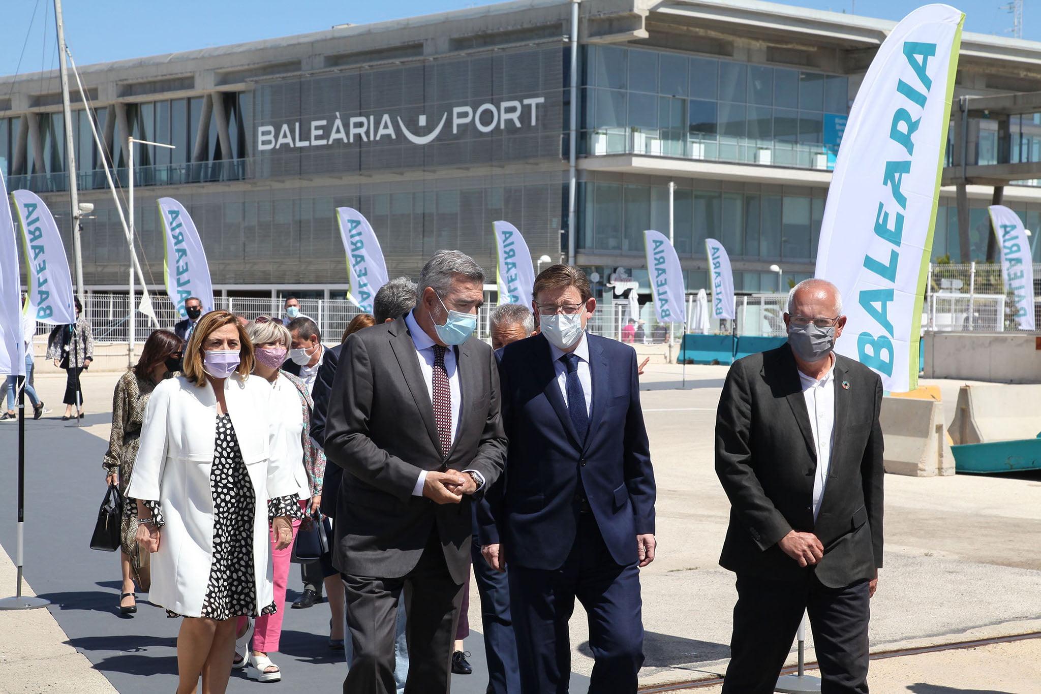 Presentación del Eleanor Roosevelt en el puerto de Dénia 19