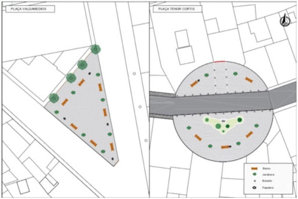 Primeros planos del proyecto de reurbanización | Foto de Deniadigital.com