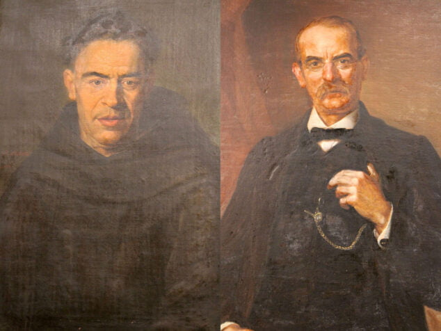 Imagen: Retratos donados al Museu Etnològic de Dénia