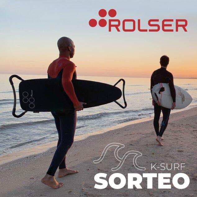 Imagen: Sorteo de una tabla de planchar K-Surf - Rolser