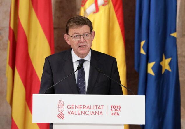 Imagen: Ximo Puig anuncia que las ayudas del Plan Resistir Plus se ampliarán a 80 nuevas actividades económicas para abarcar a todos los sectores más afectados por la crisis