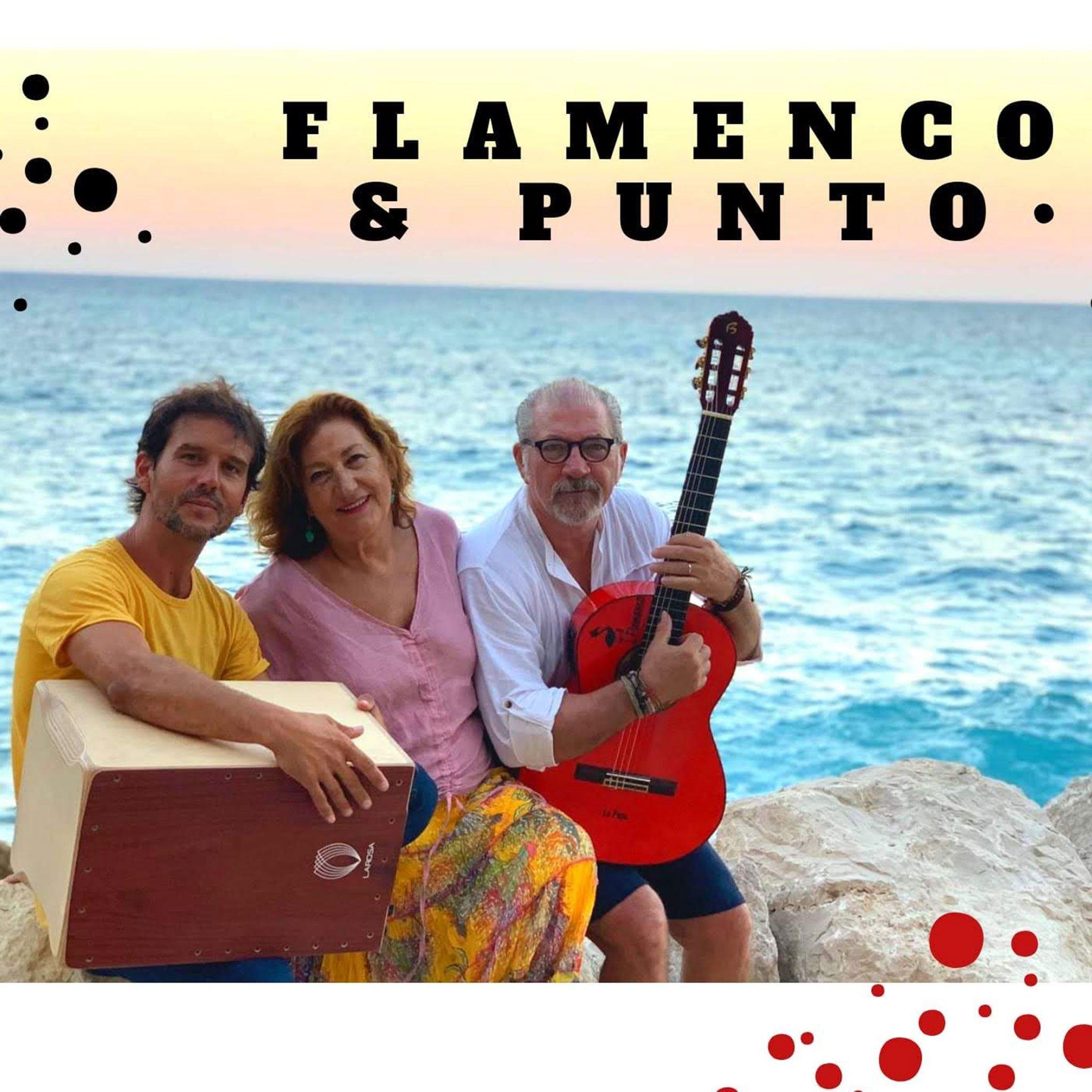 Actuación musical de flamenco en Restaurante Balandros