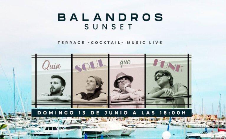 """Actuación musical """"Quin Soul que Funk"""" en Restaurante Balandros"""