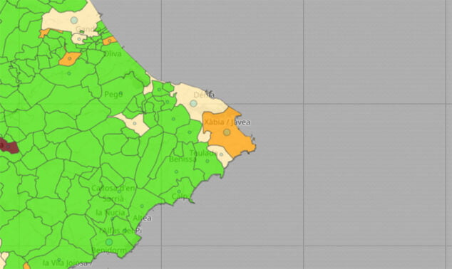 Imagen: Actualización de la incidencia del coronavirus del 4 de junio