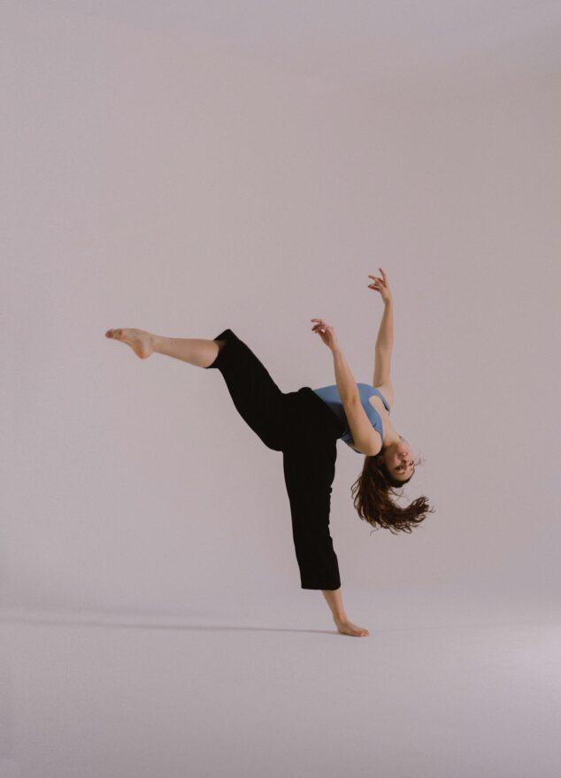 Imagen: Alumna Escola de Dansa Mª Ángeles Signes