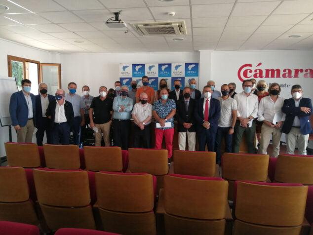 Imagen: Asistentes a la reunión de UEPAL