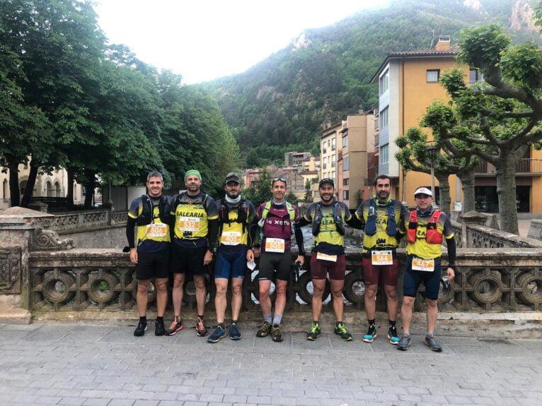 Atletas del Dénia Corre desplazados para competir