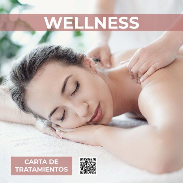 Imagen: Carta de tratamientos wellness - Hotel Los Ángeles