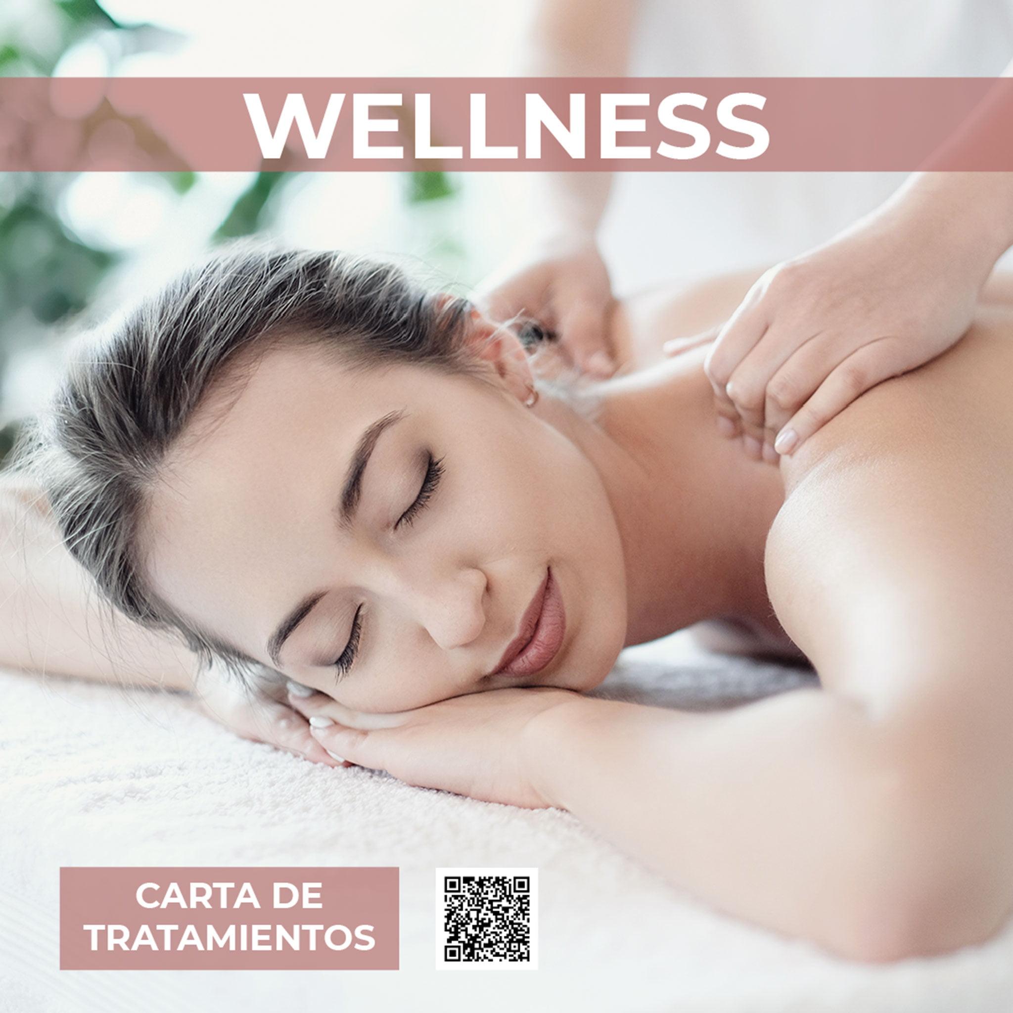 Carta de tratamientos wellness – Hotel Los Ángeles