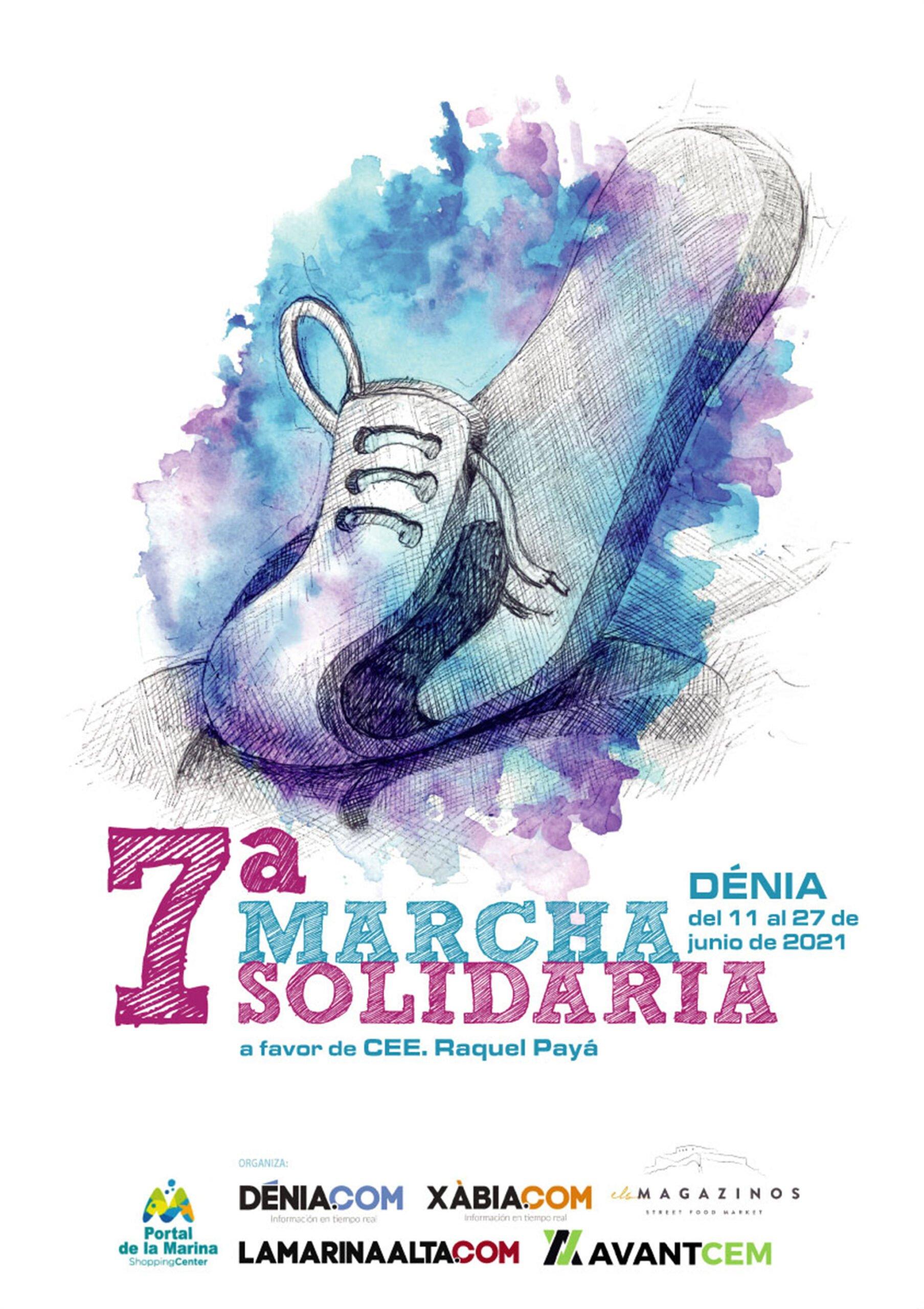 Cartel de la Carrera Solidaria de 2021