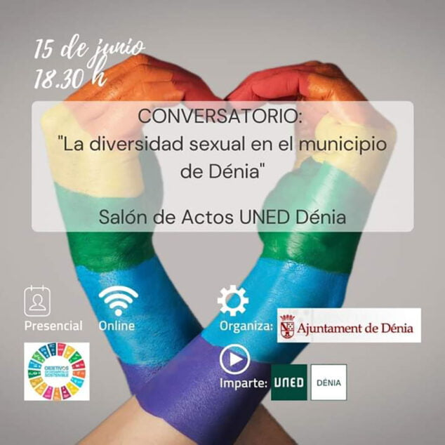 Imagen: Cartel de La diversidad sexual en el municipio de Dénia