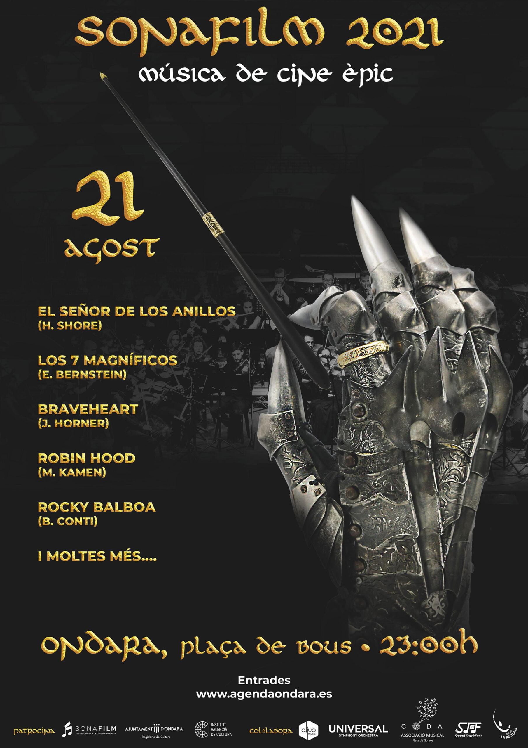 Cartel de la 3ª edición de Sonafilm