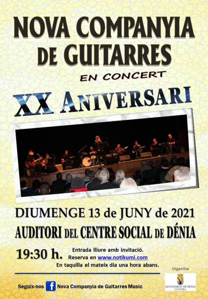 Concierto de primavera XX aniversario de la Nova Companyia de Guitarres