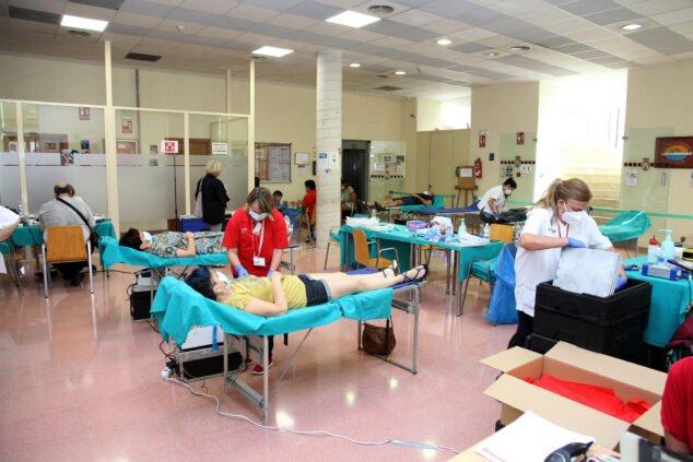 Image: HLA San Carlos Blood Donation
