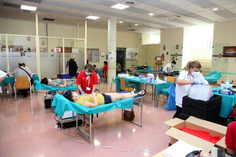 Donación de sangre HLA San Carlos