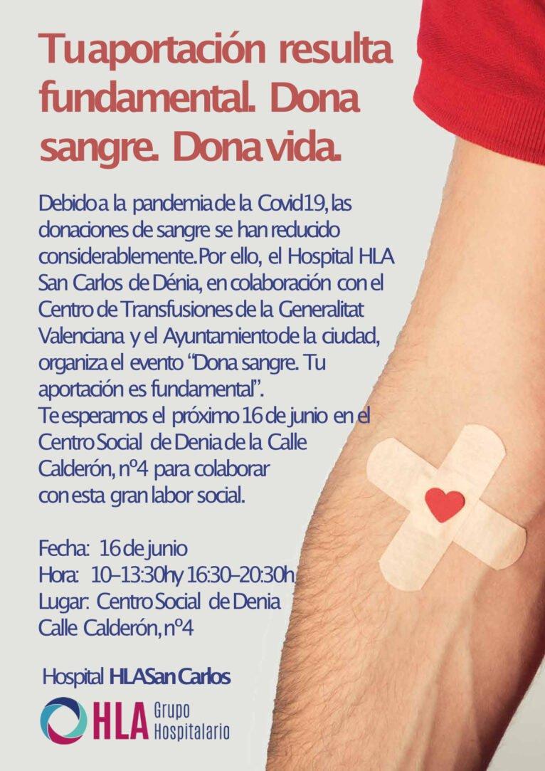 Donación Hospital San Carlos