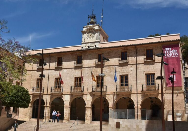 Edifico del Ayuntamiento de Dénia
