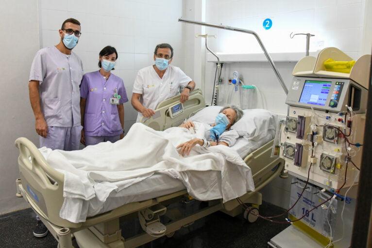 El Hospital de Dénia ofrece aféresis terapéutica para tratar enfermedades autoinmunes
