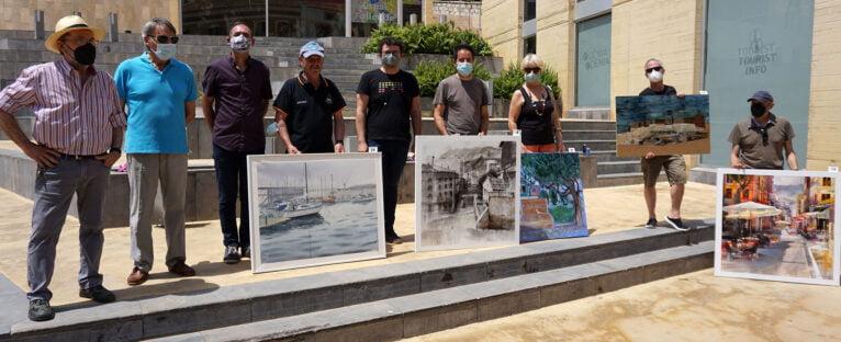 El jurado con los ganadores del concurso | Fotografía de Javier Ruiz 'Txin'