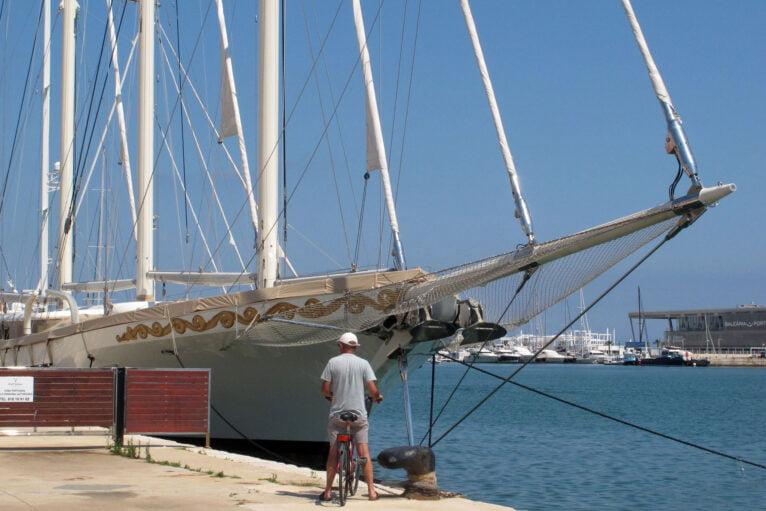 El velero de lujo Mikhail S. Vorontsov en Dénia 09