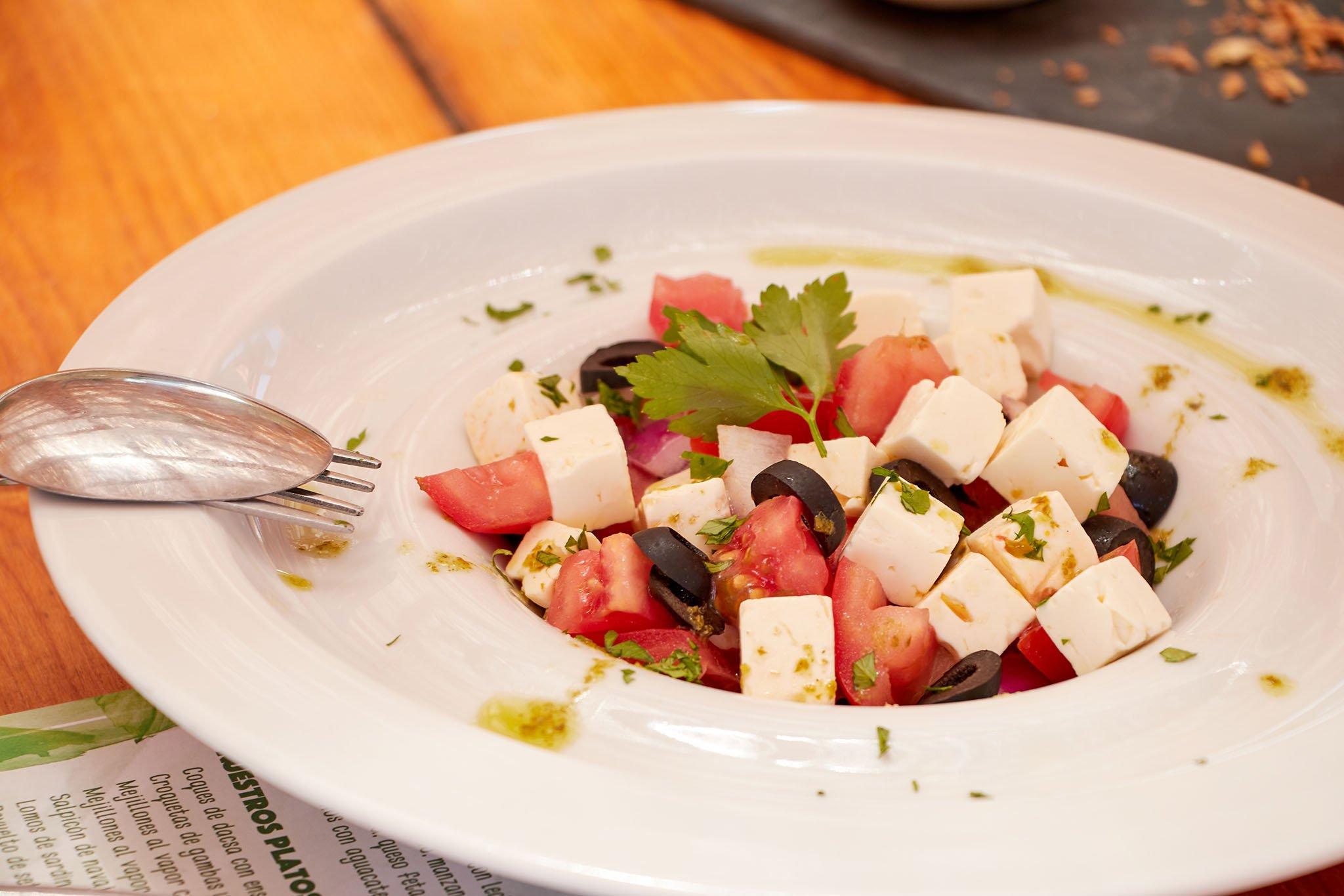 Ensalada fresca de tomate – Isla Bonita