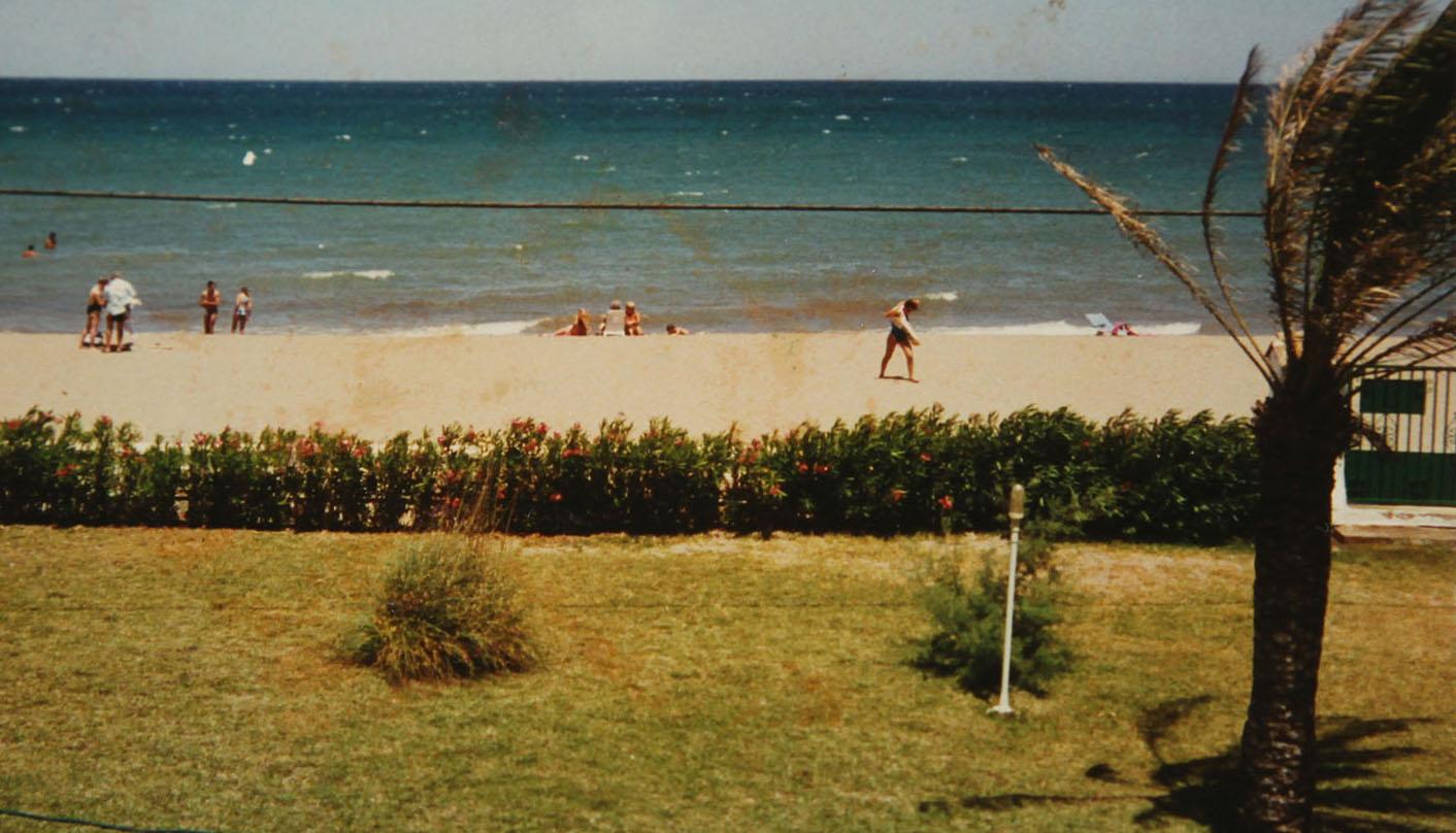 Estado de la playa durante las últimas décadas del siglo XX