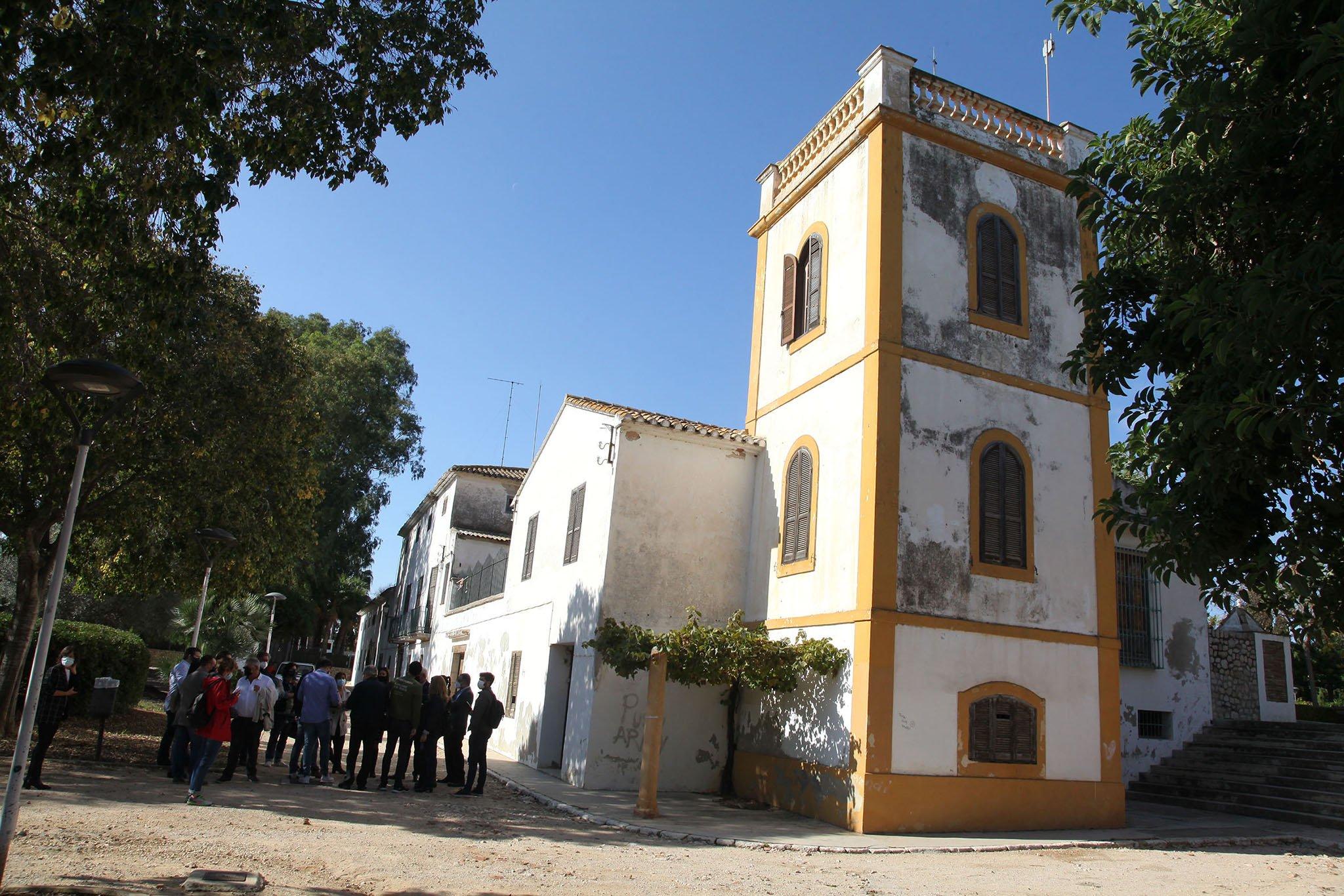 Futura sede de la Universitat d'Alacant en la finca de Torrecremada