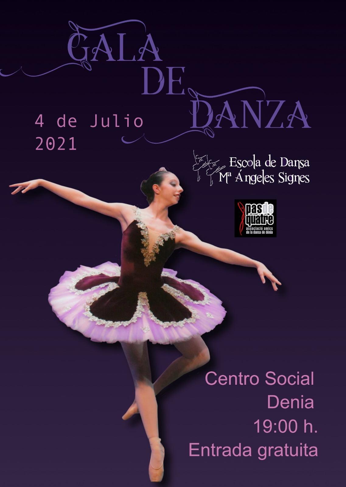 Gala de danza 2021 – Escola de Dansa Mª Ángeles Signes