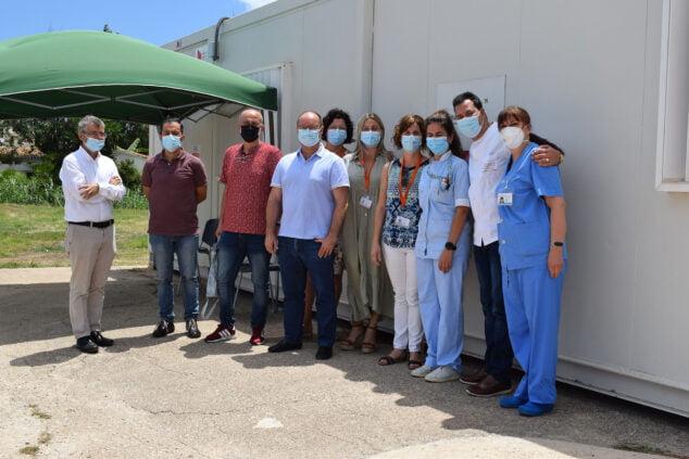Imagen: Hoy comienza a prestar asistencia el consultorio de verano de Dénia