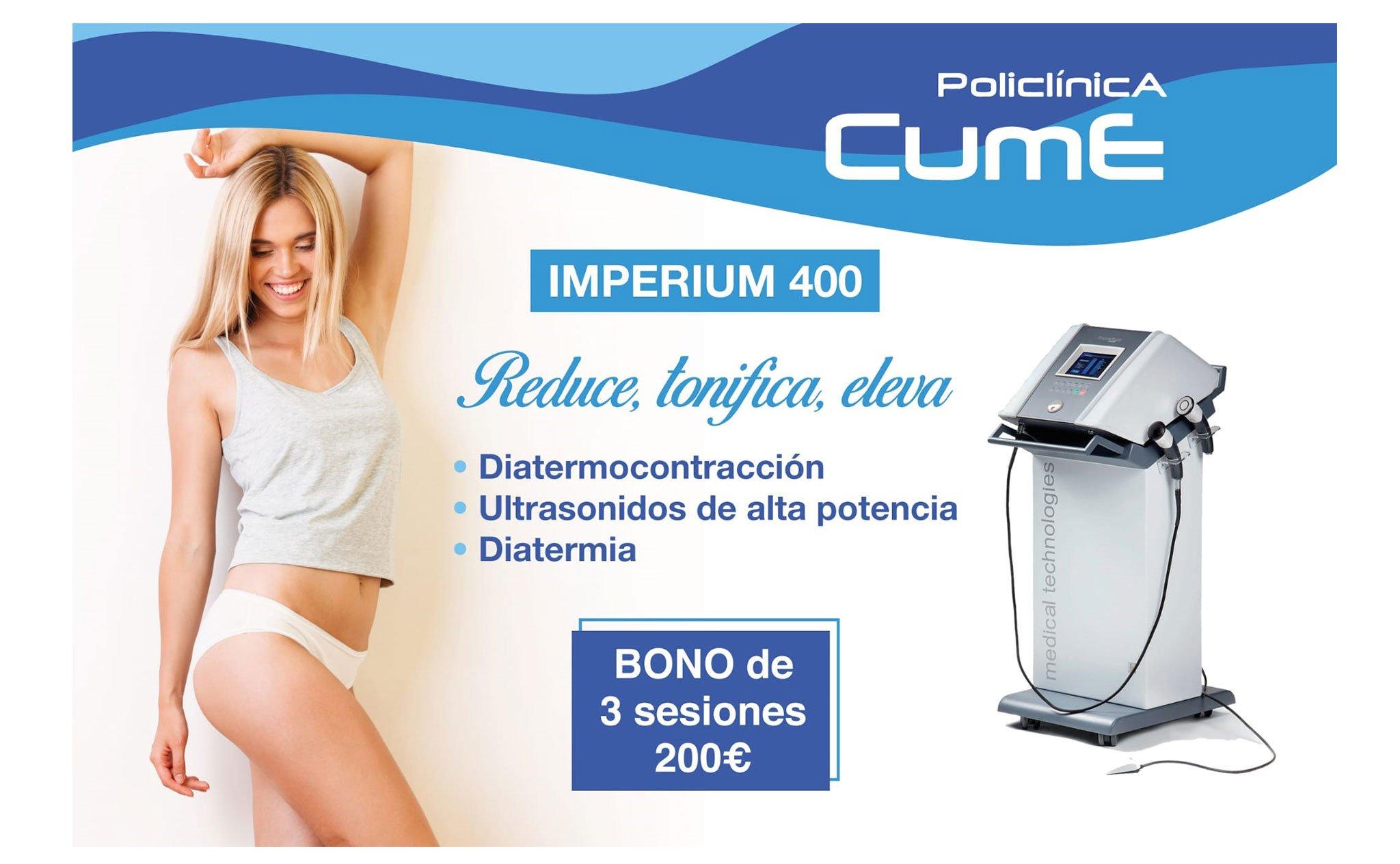 Tratamiento Imperium 400 – Policlínica CUME