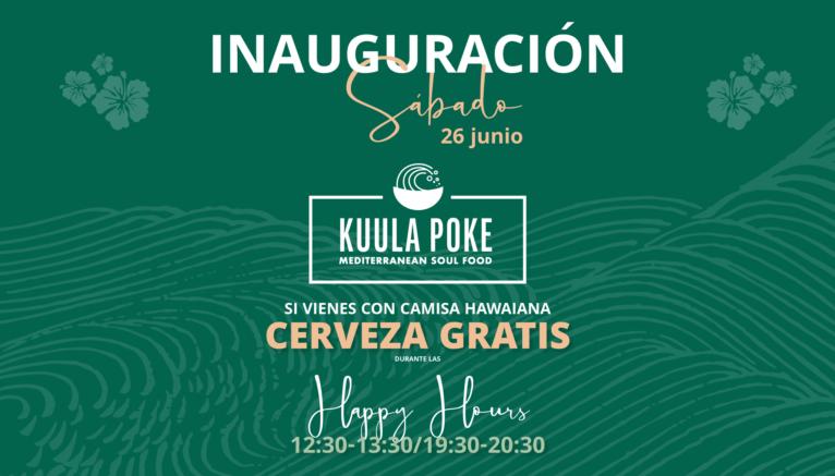 Inauguración Kuula Poke